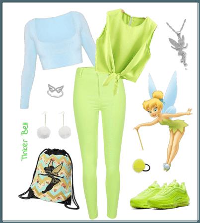 Tinker Bell outfit - Disneybounding - Disney