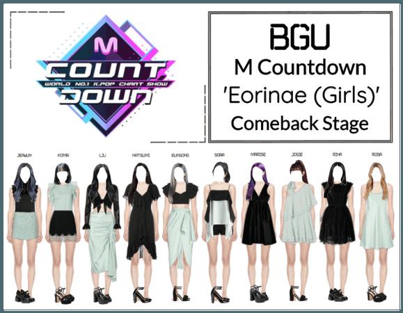 BGU M Countdown 'Eorinae (Girls)' Comeback Stage