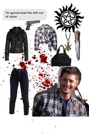 hunting trip with Dean Winchester