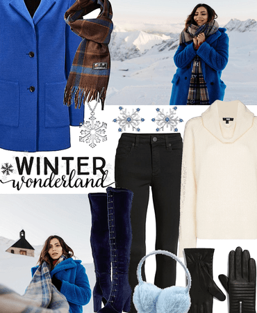 outfit creation for winter - winter wonderland