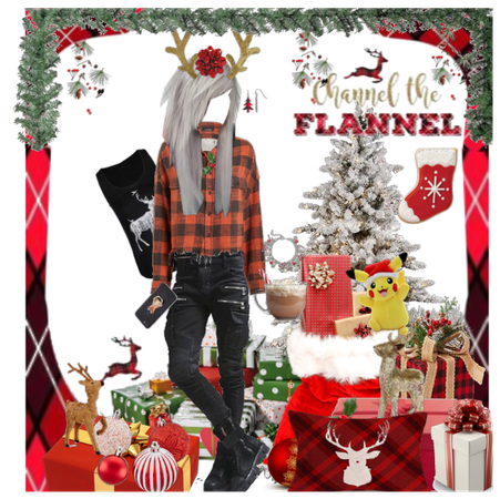 my channel the flannel set for @bi_and_not_single