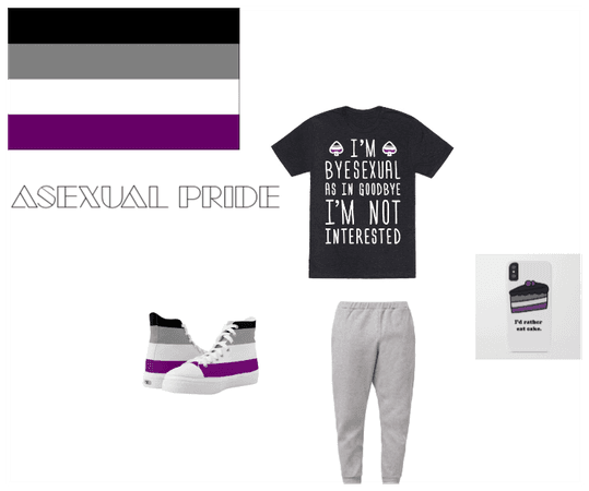 Asexual Pride Outfit