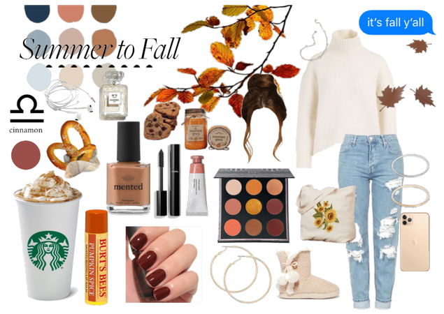 Pumpkin Spice Fall Mood Board