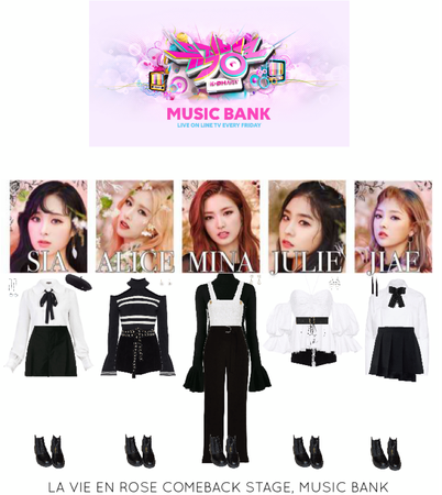 [HEARTBEAT] 'LA VIE EN ROSE' MUSIC BANK STAGE