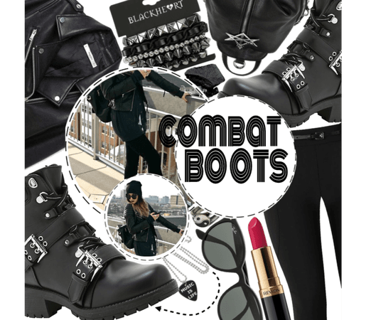 Combat boots|join