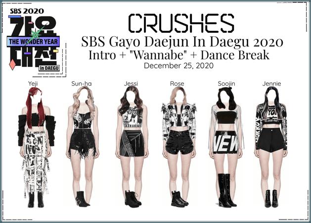 Crushes (호감) SBS Gayo Daejun In Daegu 2020