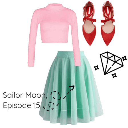 Sailor Moon Business Casual