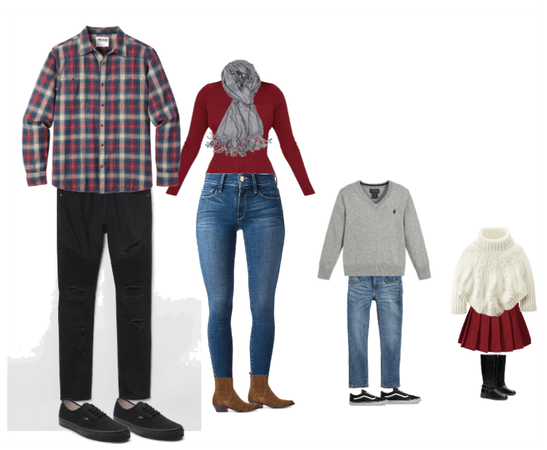 Fall family photo outfits 6
