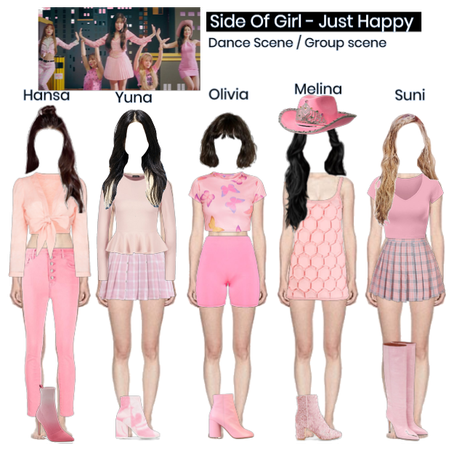Side Of Girl - Just Happy