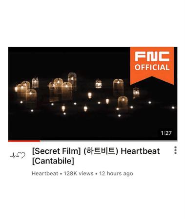 [HEARTBEAT] CANTABILE SECRET FILM