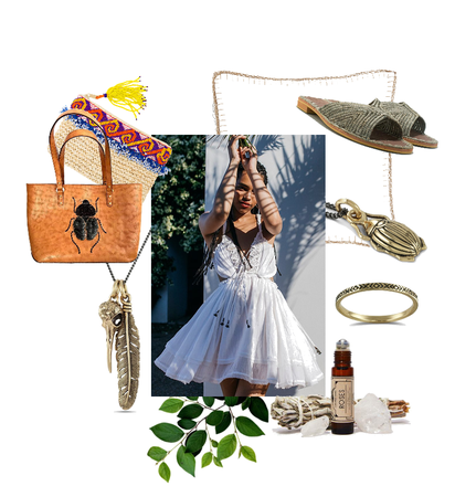 Nature Inspired Boho Summer Look
