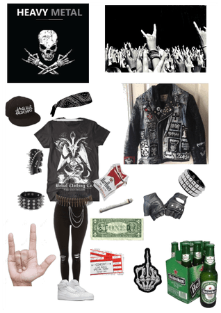 Metalhead outfit