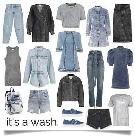 it's a wash.