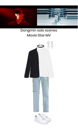 Movie Star MV- Dongmin solo scenes