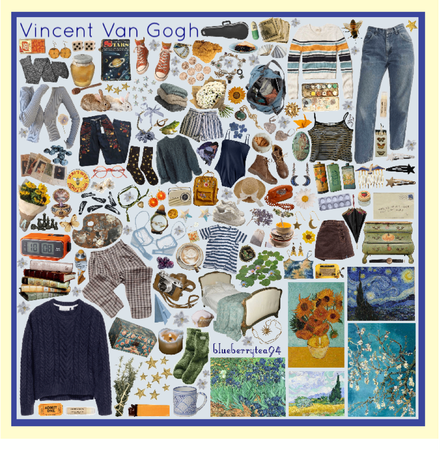 Vincent Van Gogh Moodboard