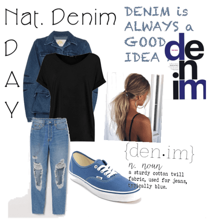 National Denim Day Outfit