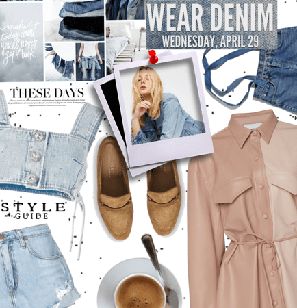 Nat. Denim Day; Leather And Denim.