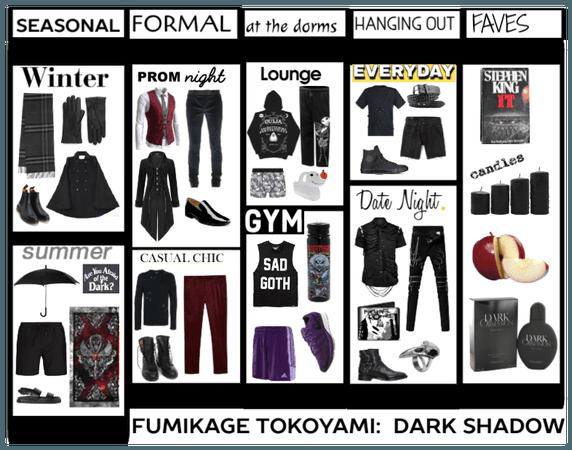 Fumikage Tokoyami's Closet