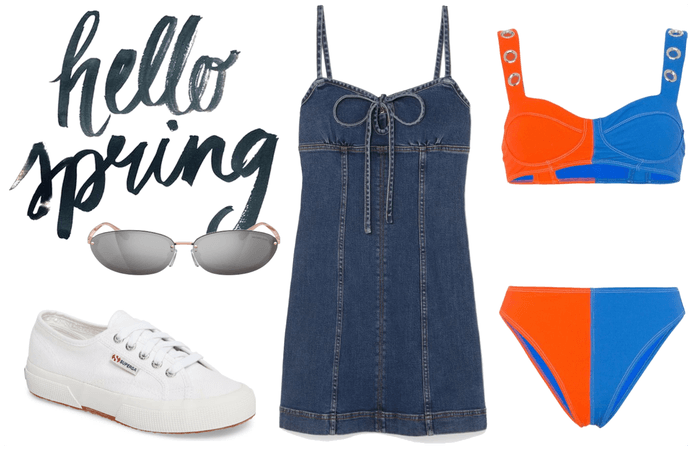 Hello Spring outfit