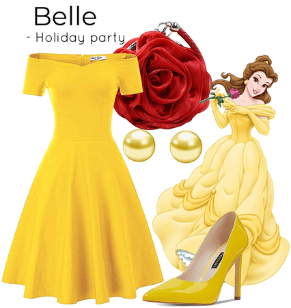 Belle-Holiday party