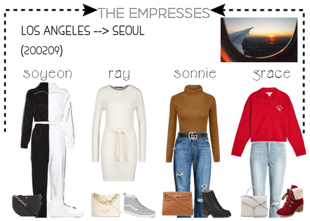 [THE EMPRESSES] TRAVELS: LOS ANGELES TO SEOUL