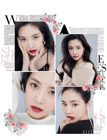 BSW (비터스윗) Park Jiyoung ELLE KOREA