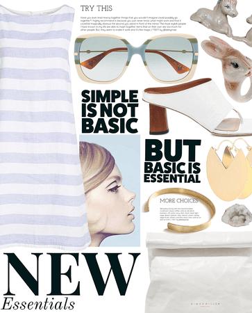 essential   simple summer dress