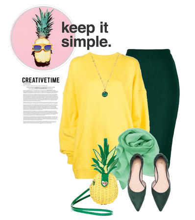DIY Costume: Pineapple