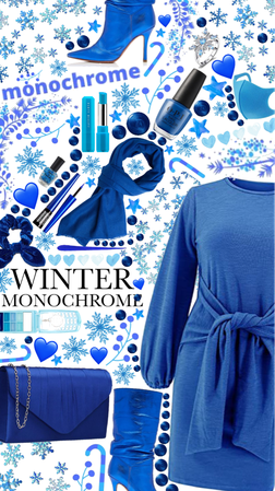 monochrome winter 🥶❄️💙
