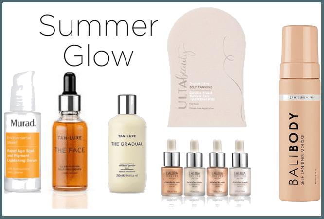 Summer Glow Tanning Skin Care