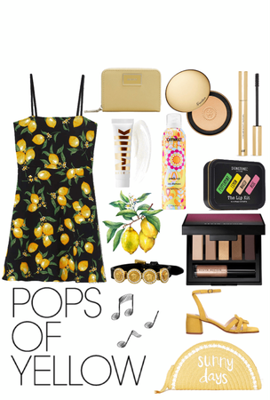 pops of yellows