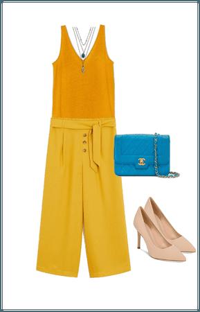 Outfit culotte para petite