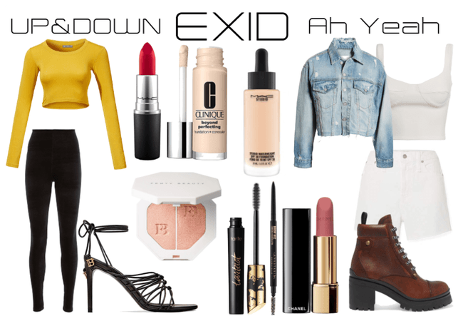 EXID Outfits
