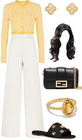 fendi yellow 💘