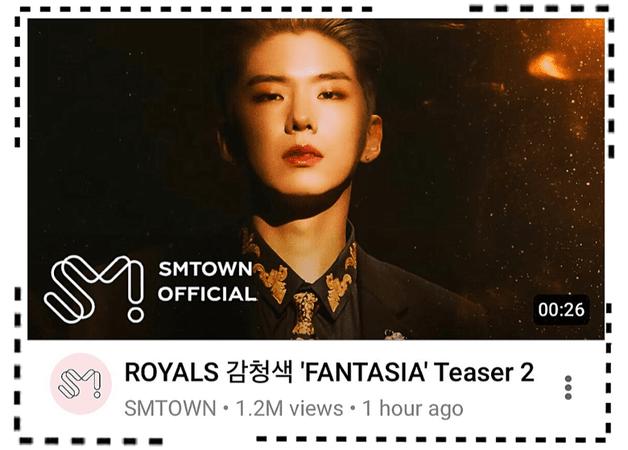 ROYALS [감청색] 'FANTASIA' M/V Teaser 2