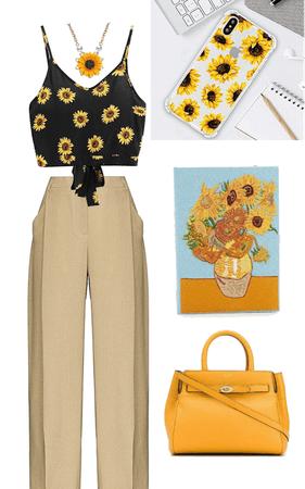 sunflower power 🌻