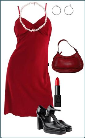 '90s November: Lady in Red