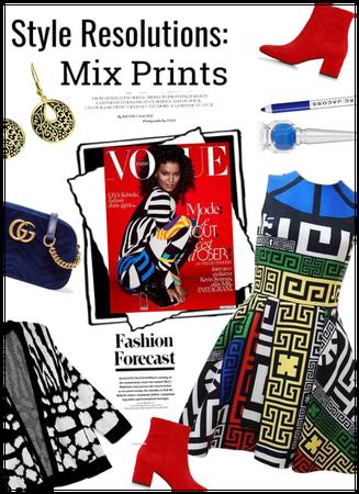 Style Resolution: Mix Prints