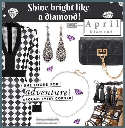 April Birthstone (Diamond)