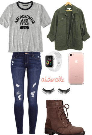 day at school series outfit #15