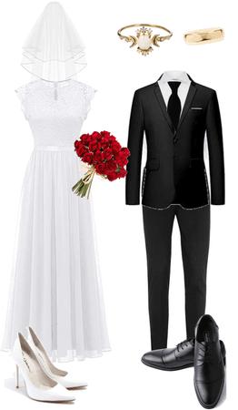 a wedding 👰