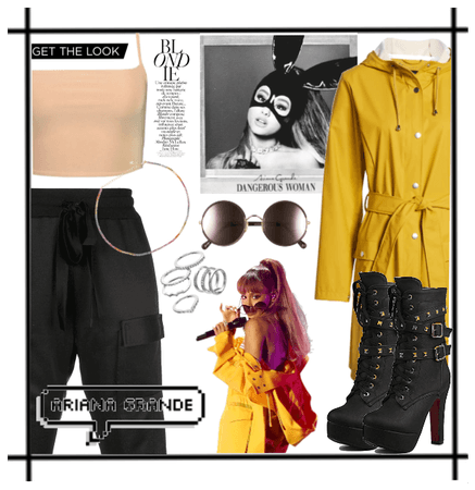 Yellow Coat - Ariana Grande