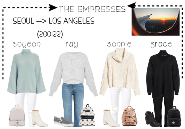 [THE EMPRESSES] TRAVELS: SEOUL TO LOS ANGELES