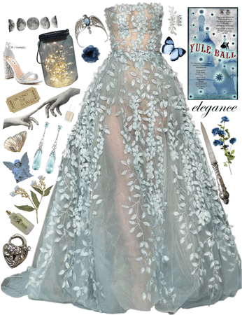 Ravenclaw- Yule Ball Outfits
