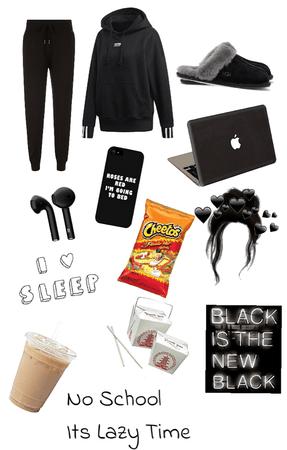 Black Lazy Day
