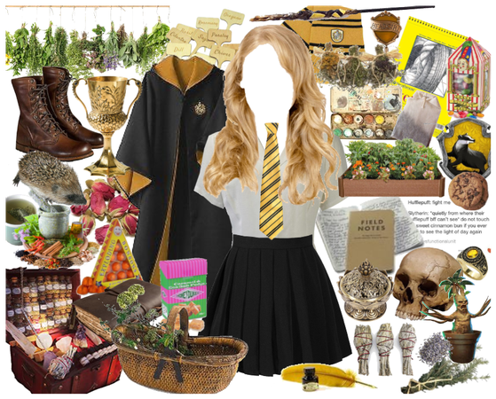 Hufflepuff Girl Outfit