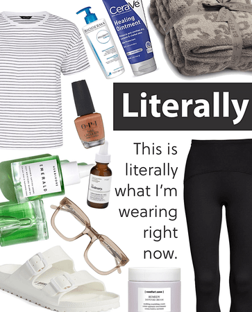 literally | what I'm wearing
