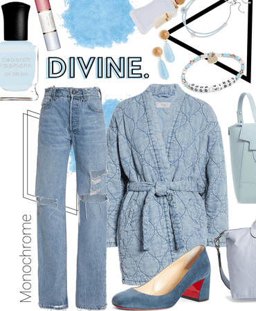 denim divine | monochrome