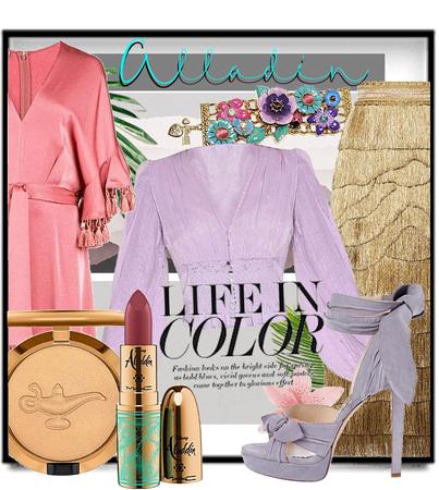 Alladin life in colour