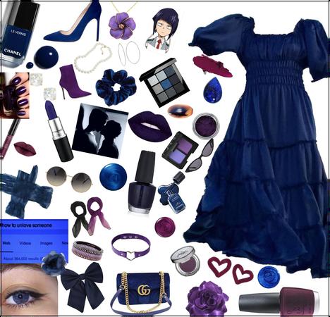 Dark Blue & Dark Purple 💜💙🖤